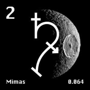 Saturns Moon Mimas Symbol
