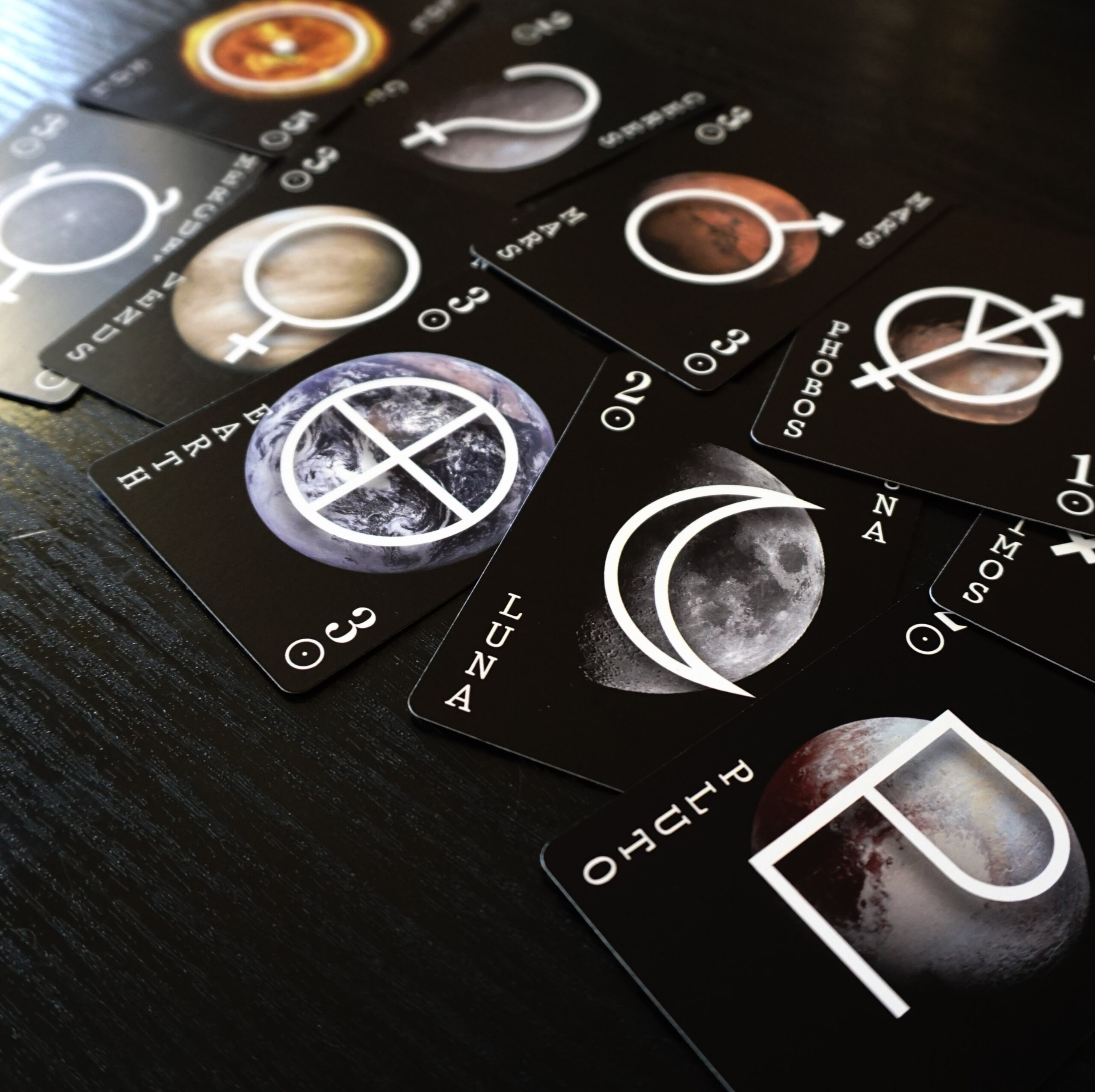 the solar republic cards inner solar system planets