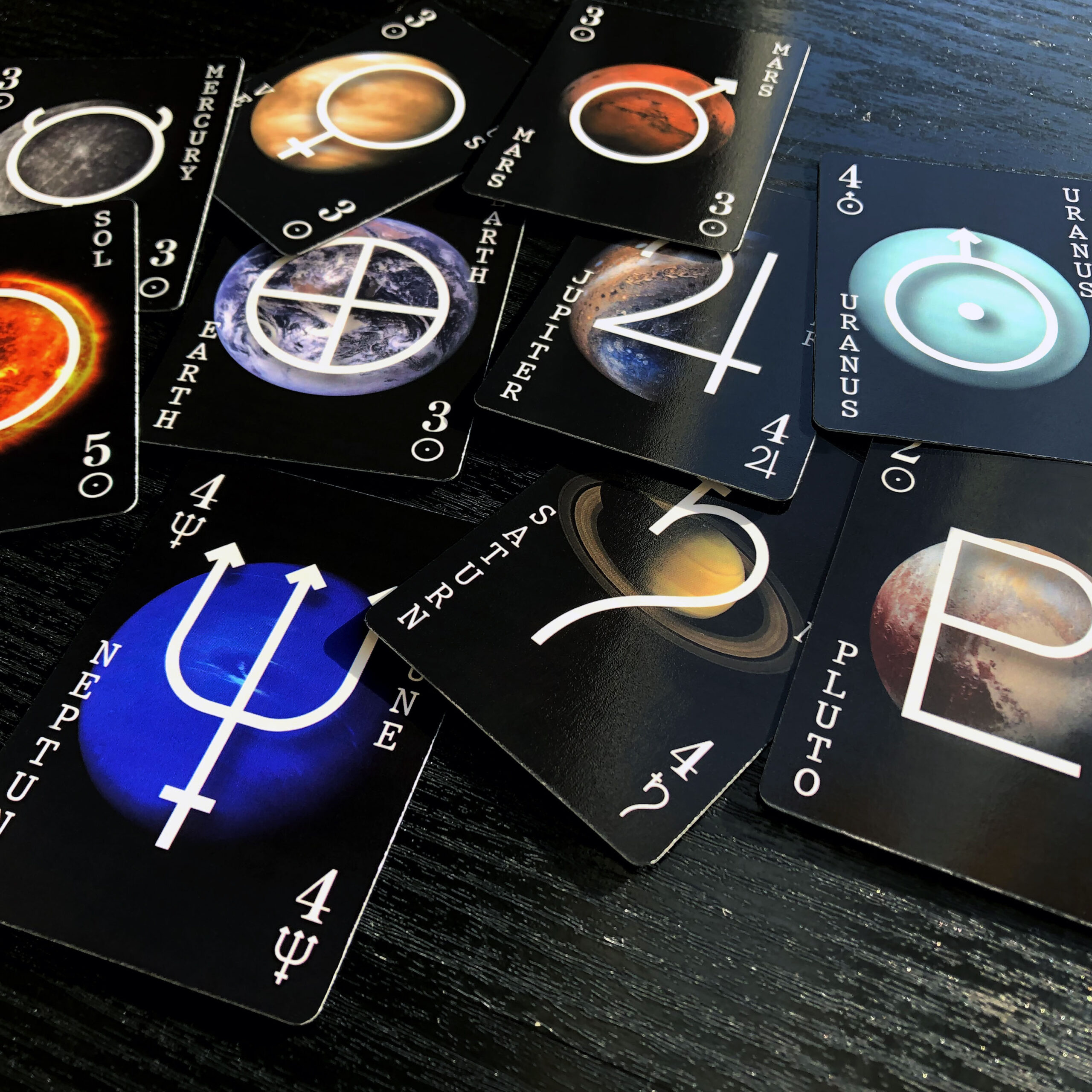 the solar republic planet game cards